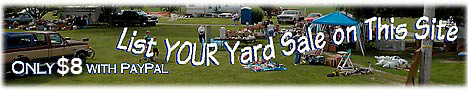 List your Yard Sale