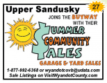 Upper Sandusky Summer Community Garage & Yard Sales